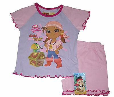 Baby Girls Pyjamas Disny Izzy Jake And The Neverland Pirates 12-18 & 18-24 Short