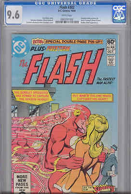 Flash #302  CGC 9.6 1981 Scarlett Speedster and a Kiss on Cover: Price Drop!