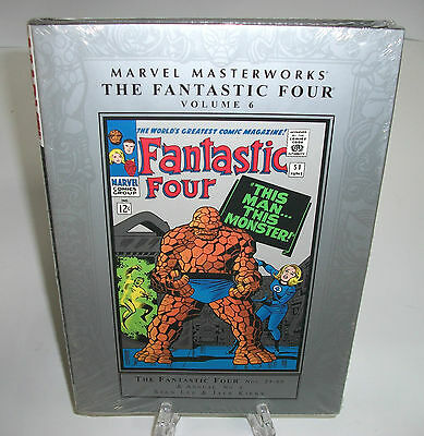 The Fantastic Four Volume 6 Marvel Masterworks HC Hard Cover New Sealed 4