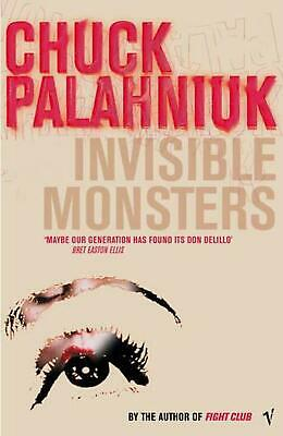 Invisible Monsters by Chuck Palahniuk (English) Paperback Book Free Shipping!