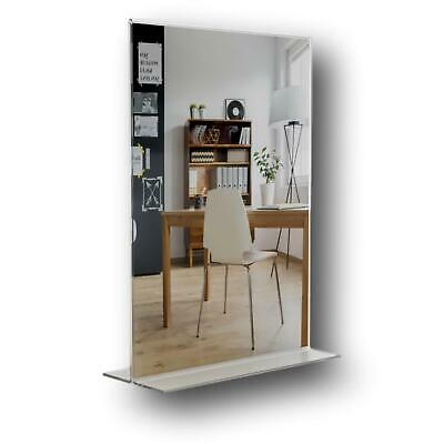 25 A4 Portrait Two Sided Acrylic Perspex Menu Sign Display Holder Counter Stand