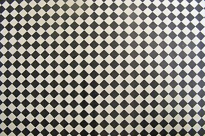 Dolls House Miniature Lino Effect Floor Wall Paper DIY Accessory 54cm x 74cm 021