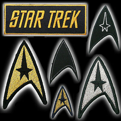 STAR TREK New Movies / Classic Series Original Ship Logo Arrow Patch Collection!