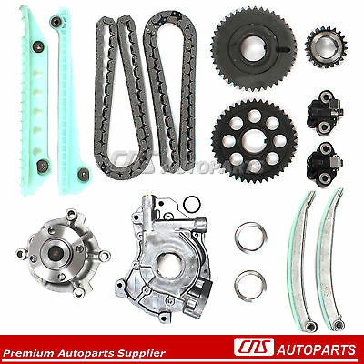 00-03 4.6L FORD MERCURY SOHC DOHC V8 Timing Chain Kit Water Pump Oil Pump