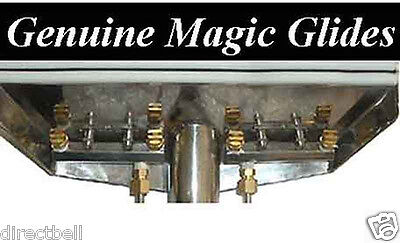 "2 Magic Glides for 12"" wand Lips Fabchem MG12-2 Carpet Cleaning"