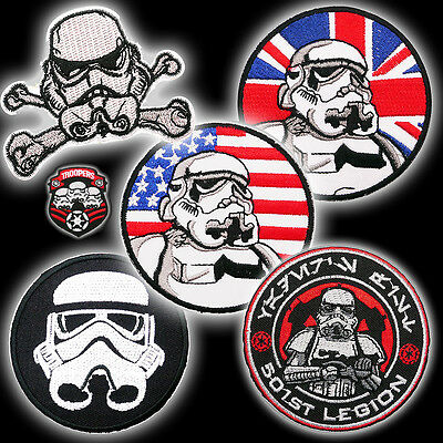 STAR WARS - STORM TROOPER Patch Collection, Inc. Death Squad, Brit & 501st - NEW