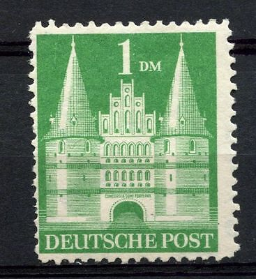Germany Allied Occ. 1948 SG#A132a 1DM Holstentor Lubeck MH P11 Type V #A37088