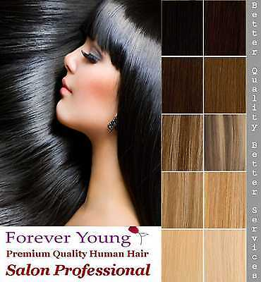 Premium Clip In Human Hair Extension One Piece Quick Clip On Hair Pick & Mix
