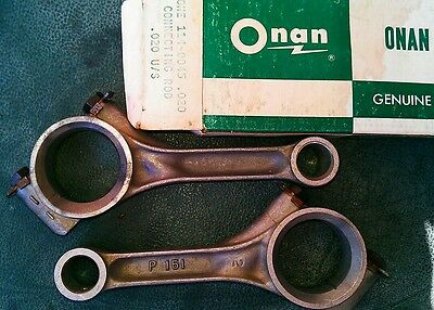 PAIR CK ONAN  CONNECTING RODS 114-0045-02 fits CK  ENGINE 20/1000TH UNDER  NOS