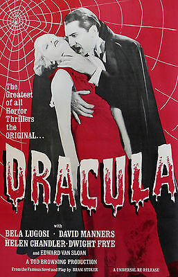 """DRACULA"" ..Bela Lugosi.. Vintage 1931 Vampire Horror Movie Poster A1A2A3A4Size"