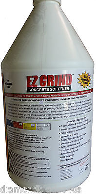 Xtreme EZ Grind 1 gallon concrete softener 4 surface preppolishing contractors
