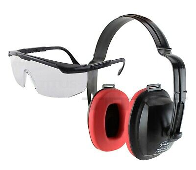 Personal Safety Protection Shooting Firing Gun Range Ear Muffs Hearing Glasses