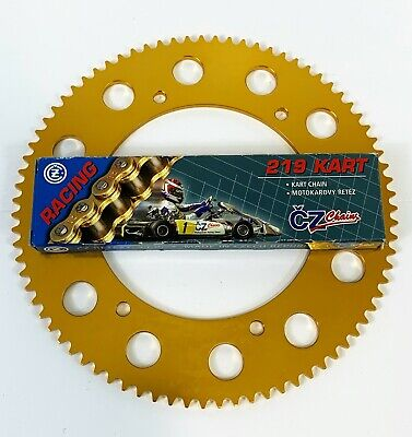 Kart 114 Link CZ Chain & Sprocket Offer The Best Price - Rotax - TKM - Honda