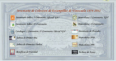 Venezuela Database with Want Lists and Color Pics 2011
