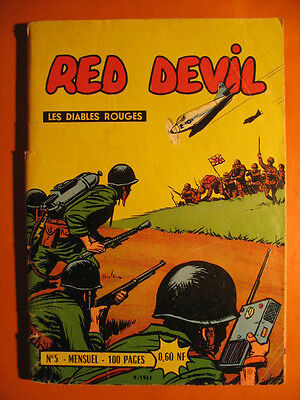 RED DEVIL - Les Diables Rouges  N° 5 du  09/1961  - Editions Remparts