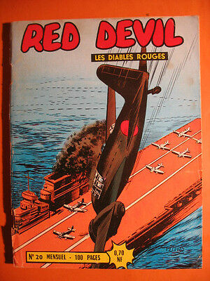 RED DEVIL - Les Diables Rouges  N° 20 du  12/1962  - Editions Remparts