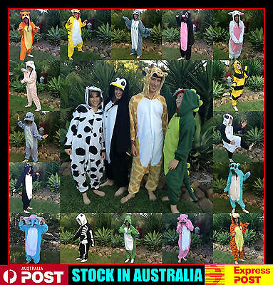 Adult Child Kids Onesie Costume Kigurumi  Same Day Post