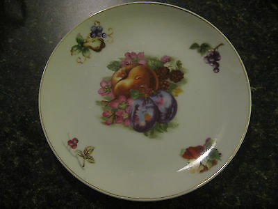 Vintage Lefton China 1133 Fruit Plate