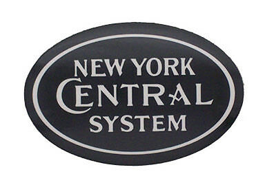 New York Central System Railroad Mylar Magnet #58-1330