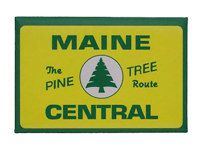 Maine Central Railroad Magnet #58-1280
