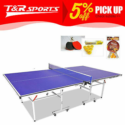 16Mm Top 30Mm Metal Leg Table Tennis Table Family Fun Pro Size Table