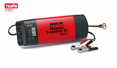 Telwin Caricabatterie mantenitore 12/24V Start Intelligent Boost T-CHARGE 20