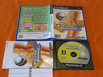 virtua tennis 2 playstation 2: