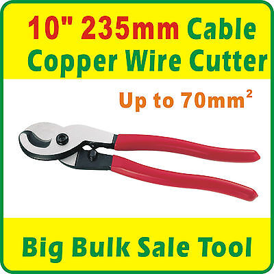 """10"""" 235mm Cable Copper Wire Cutters up to 70mm2"""