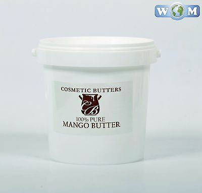 Mango Butter - 100% Pure and Natural - 1Kg (BUTT1KMANG)