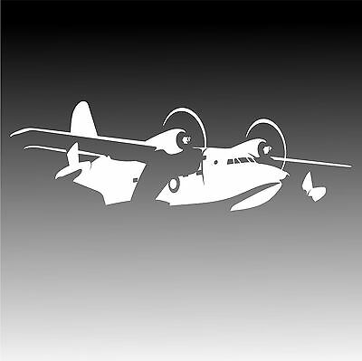 HU-16 Albatross Aircraft Sticker HU16 Flying Boat Decal