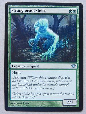 XXX 1x STRANGLEROOT GEIST englisch dark ascension (spirit haste undying green)