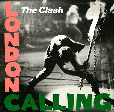 "The Clash..  ""LONDON CALLING"".. Iconic Album Retro Poster A1 A2 A3 A4 Sizes"