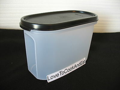 Tupperware Modular Mates OVAL Size 2 Your Color Choice Blue Red Black New