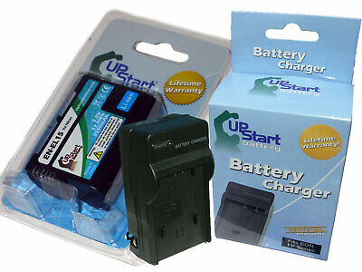 Decoded Battery + Charger for Nikon EN-EL15 D600 D800 D800E D7000 1 V1 MH-25