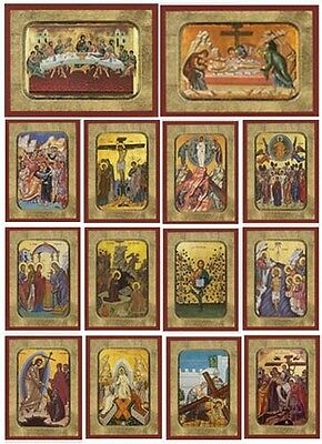 Orthodox Byzantine Icons of Christs Great Feasts Icon Orthodoxe Ikone Christus