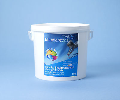 5kg Large Multifunctional Chlorine Tablets 200g -  Swimming Pool Chemicals
