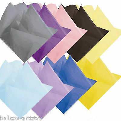 16 Sheets Tissue Paper All Colours Arts & Crafts Gift Under One Listing
