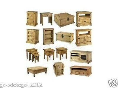 Corona Mexican Pine Hinges Handles Studs Hasp For Trunk Drawers Tables Chests