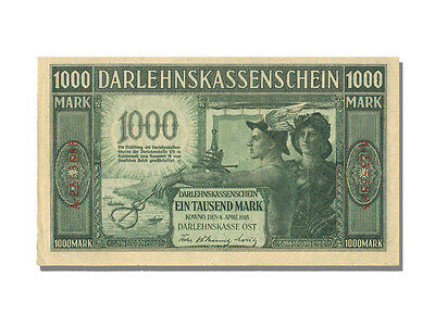 [#21915] Germany, 1000 Mark, 1918, KM #R134b, 1918-04-04, UNC(63), A. 2555885