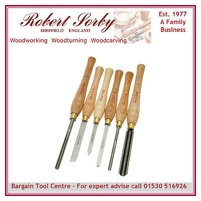 ROBERT SORBY 67HS  6 Piece Chisel Set rrp £210.90 SAVE £72.45