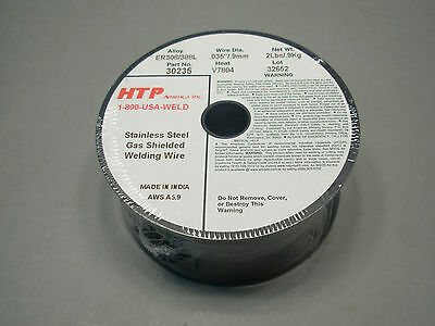 Two 2 lb Spool .035 ER308L ER308 Stainless Steel Mig Welding Wire HTP Quality!!