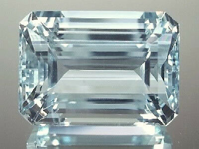 Masterpiece Collection: Octagon Genuine (Natural) Aquamarine (5x3-8x6mm)