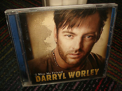 DARRYL WORLEY: I MISS MY FRIEND CD, GREAT MUSIC, GOOD CONDITION