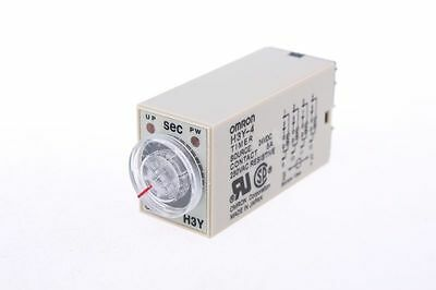 H3Y-4 14-Pin Plug in 0-5Sec Delay Timer Time Relay 24VDC w LED Indicator