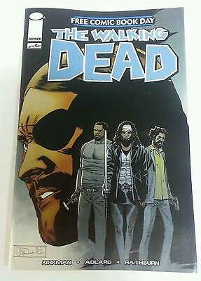 The Walking Dead FCBD 2013 Promo Image Comic Book AMC Show Robert Kirkman