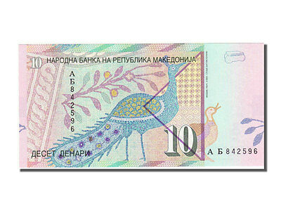 Banknoten Macedonia, Republic of macedonia, 10 Denari, 1996