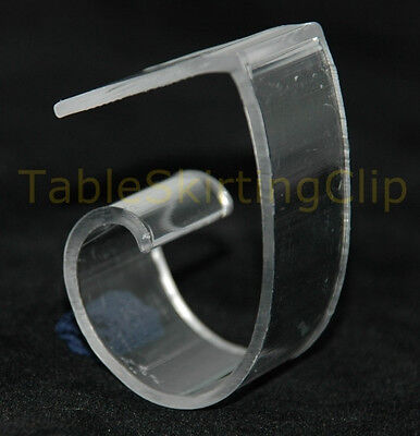 """12 Large Tablecloth Clips 