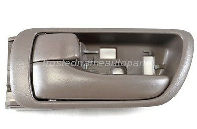 fits Toyota Inside Interior Door Handle Front Rear Left Driver Side Dark Brown