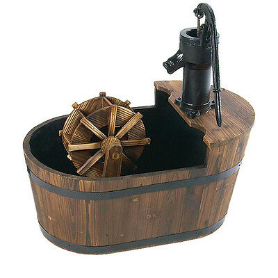 Astonica 40208213 Spinning Jenny Water Wheel Fountain