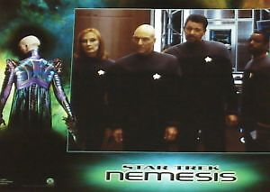 STAR TREK X 10 NEMESIS - 11x14 US Lobby Cards Set - Tom Hardy, Patrick Stewart